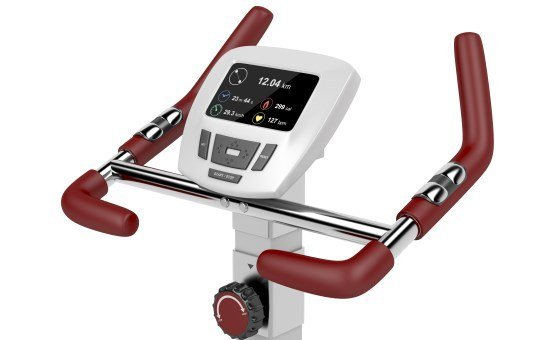 exercise bike control panel